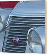 1937 Studebaker Grille Wood Print