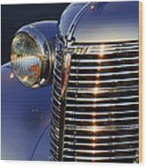 1938 Chevrolet Grille Wood Print