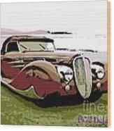 1938 Delahaye Cabriolet Wood Print