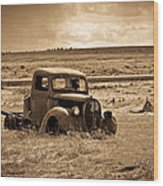 1938 Ford Pickup Wood Print by Steve McKinzie