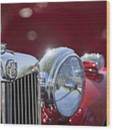 1938 Mg Ta Hood Ornament Wood Print