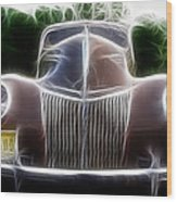 1939 Ford Deluxe Wood Print