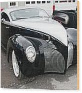 1939 Lincoln Zephyr  7680 Wood Print