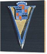 1940 Cadillac Emblem Wood Print