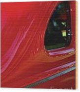 1940 Ford Coupe Side Window Wood Print
