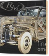 1940 Pontiac Transparent Wood Print