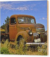 1940's Chevy Truck 2 Wood Print
