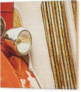 1940's Seagrave Fire Engine Wood Print