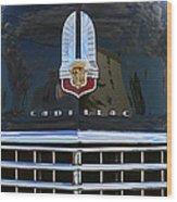1941 Cadillac Grill Wood Print