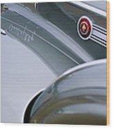 1941 Packard 1907 Custom Eight One-eighty Lebaron Sport Brougham Side Emblems Wood Print