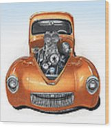 1941 Willys Hotrod Wood Print