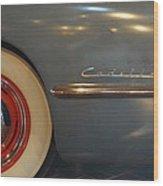 1942 Cadillac - Series 62 Sedanette Fastback Wood Print