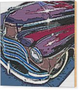 1946 Chevrolet Front Study Wood Print by Samuel Sheats