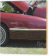 1947 Cadillac . 5d16181 Wood Print