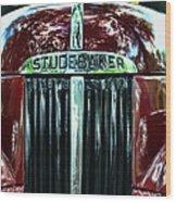 1947 Studebaker Grill Wood Print