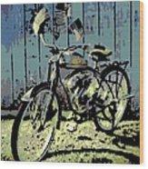 1947 Whizzer Wood Print