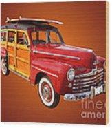1947 Woody Wood Print