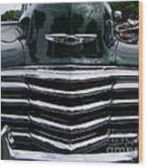 1948 Chevy Coupe Grille Wood Print