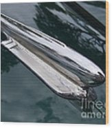 1948 Chevy Coupe Hood Ornament Wood Print
