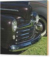 1948 Ford Super Deluxe Wood Print