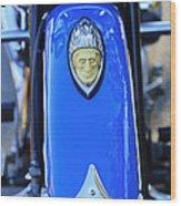 1948 Indian Chief Motorcycle Fender Wood Print