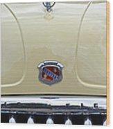 1949 Buick Super 8 Grill  Wood Print