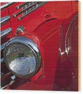 1949 Diamond T Truck Emblem Wood Print