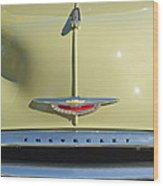 1950 Chevrolet Fleetline Grille 2 Wood Print