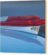 1950 Chevrolet Hood Ornament 5 Wood Print