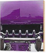 1950 Mercury Wood Print