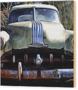 1950 Pontiac  Wood Print