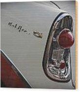 1950s Chevrolet Belair Chevy Antique Vintage Car 2 Wood Print
