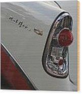 1950s Chevrolet Belair Chevy Antique Vintage Car Wood Print