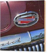 1951 Buick Eight Wood Print