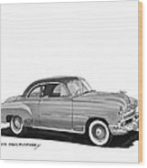 1951 Chevrolet Coupe Wood Print
