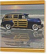 1951 Chevy Sedan Delivery Wood Print
