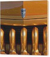 1951 Mercury Hot Rod Grille Wood Print