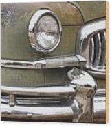 1951 Nash Ambassador  Wood Print