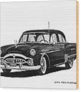1951 Packard Patrician 400 Wood Print