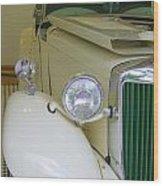 1952 Mg Roadster  Side View Wood Print