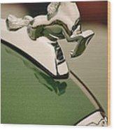 1952 Sterling Gladwin Maverick Sportster Hood Ornament Wood Print