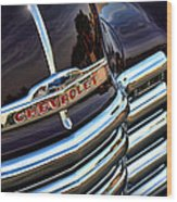 1953 Chevy Pickup Grille Wood Print