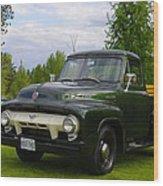 1953 Ford F-100 Wood Print