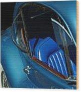 1953 Jaguar 120m Wind Wings Wood Print