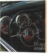 1953 Mercury Monterey Dash Wood Print