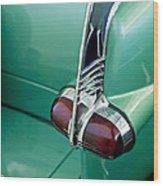 1953 Packard Caribbean Convertible Taillight Wood Print