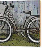 1953 Schwinn Bicycle Wood Print