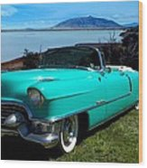 1954 Cadillac Convertible Wood Print