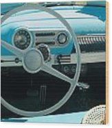 1954 Chevy Flo Abel Wood Print