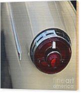 1954 Ford Customline Tail Light Wood Print